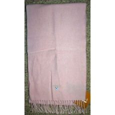 Barbour Plain Lambswool Scarf Pink