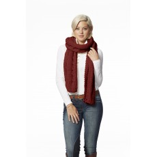 Ariat Cable Scarf Rouge