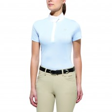 Ariat Aptos Show Top Short Sleeve Blue