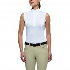 Ariat Aptos Show Top Sleeveless White