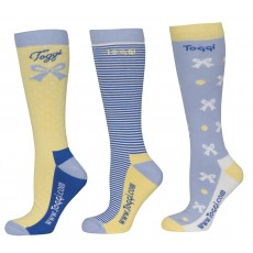 Toggi New Haven Ladies Three Pack Sock