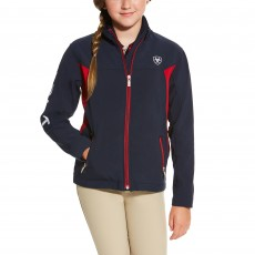 Ariat Youth New Team Softshell Navy