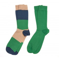 Barbour Men's Cleadon Two Pack Socks