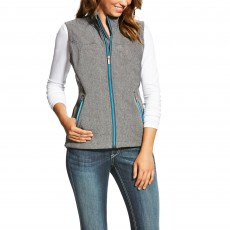 Ariat Women's New Team Softshell Vest Charcoal