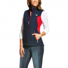 Ariat Women's New Team Softshell Vest Navy