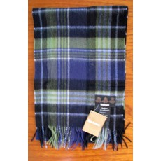 Barbour Country Check Scarf Blue/Green