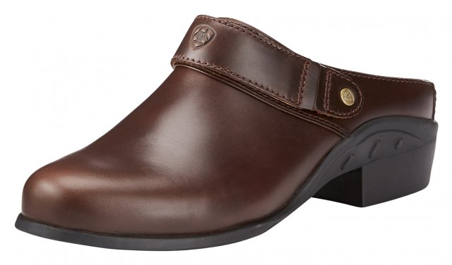 Ariat Women's Sports Mule Waxed Chocolate