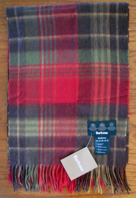 Barbour Country Check Scarf USC0106OL31