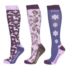 Toggi Odin Womens 3 Pack Socks