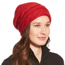 Ariat Cable Hat Rouge