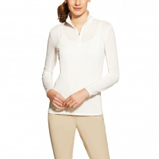 Ariat Women's Sunstopper Quarter Zip White