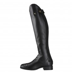 Ariat Women's Heritage Contour II Field Zip Long Boot Black