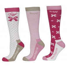 Toggi Women's New Haven Three Pack Socks