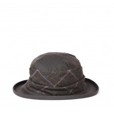 Barbour Wax With Tweed Brimmed Hat