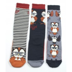 Toggi Children's Tawny Three Pack Socks