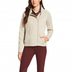 Ariat Women's Regency Full Zip Oatmeal