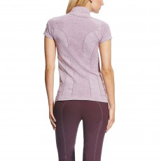 Ariat Women's Odyssey Seamless Quarter Zip Plum Shadow