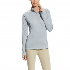 Ariat Lowell 2.0 Quarter Zip Coastal Gray