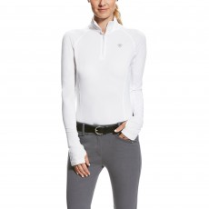 Ariat Lowell 2.0 Quarter Zip White