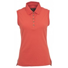 Toggi Women's Kasia Sleeveless Polo Shirt Scarlet