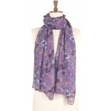 Toggi Women's Jardine Printed Scarf Heather Floral