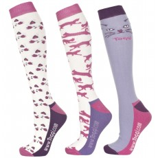Toggi Women's Inga Three Pack Socks Vanilla