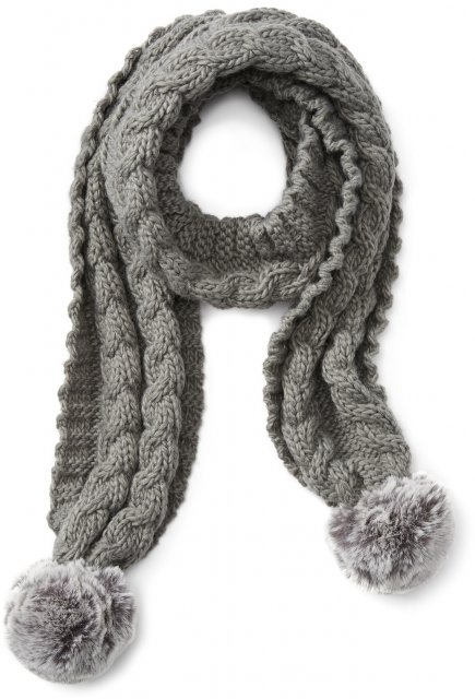 Ariat Snug Scarf Grey