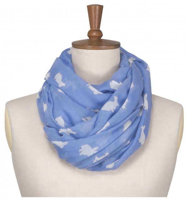 Toggi Fredrica Long Scarf Cornflower Blue