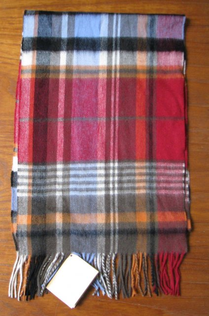 Barbour Bright Country Plaid Blue/Red