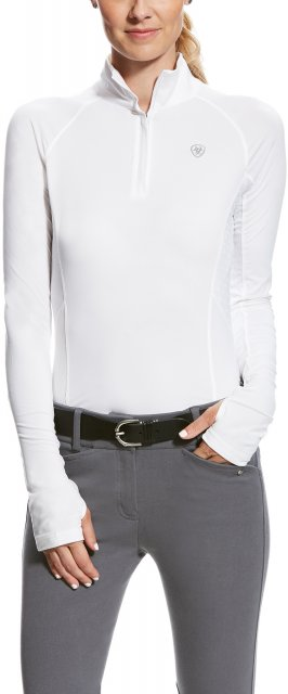 Ariat Women's Lowell 2.0 Quarter Zip White