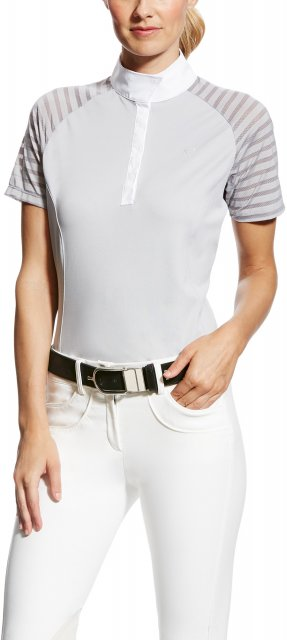 Ariat Women's Aptos Vent Show Shirt Grey